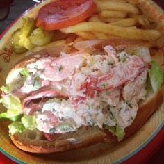 Contempo Cafe. Lobster roll at the Contemporary Resort
