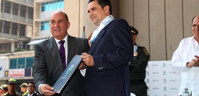 Condecorado Secretario de Gobierno de Cali con medalla al Mérito Vallecaucano
