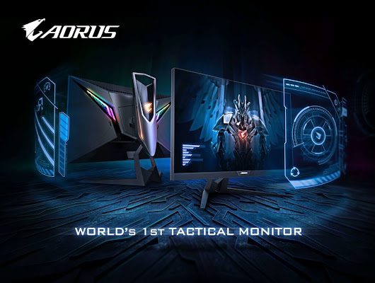 AORUS announces World's First Tactical Gaming Monitor:AD27QD