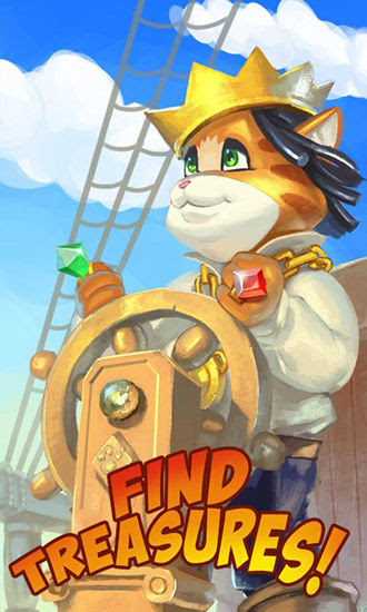 Screenshots of the Pirate cat: Saga for Android tablet, phone.