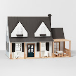 This Dollhouse From Joanna Gaines' New Hearth & Hand Collection Is Seriously Everything - HouseBeautiful.com