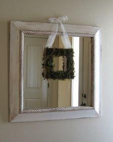 Pickup Some Creativity: Cardboard Wreath Form Tutorial (+Moss)