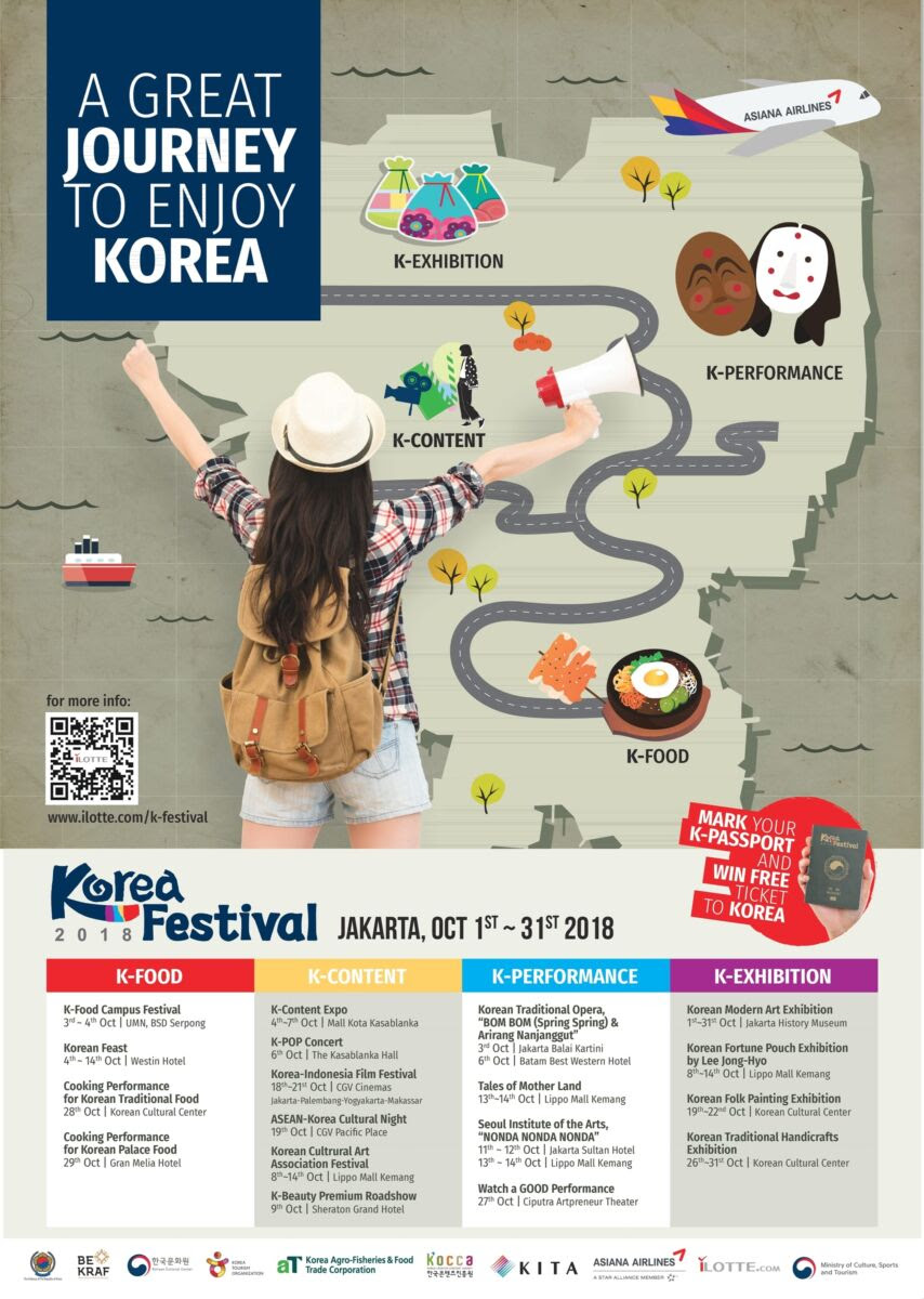 [INDONESIA] Korea Festival 2018 Press Conference – The Seoul Story