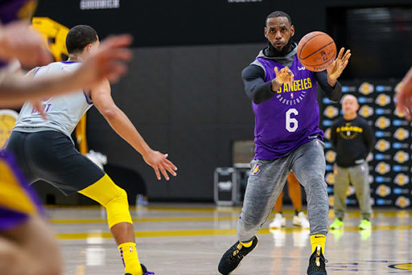 a321001a72a Google News - LeBron James makes practice debut for Lakers - Overview