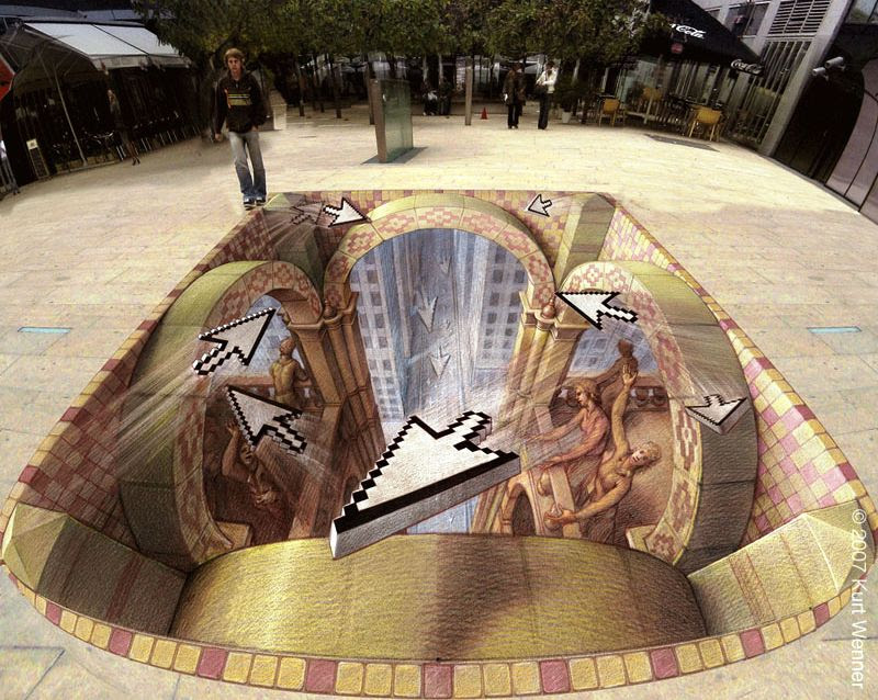 myoeF The Incredible World Of 3D Street Art