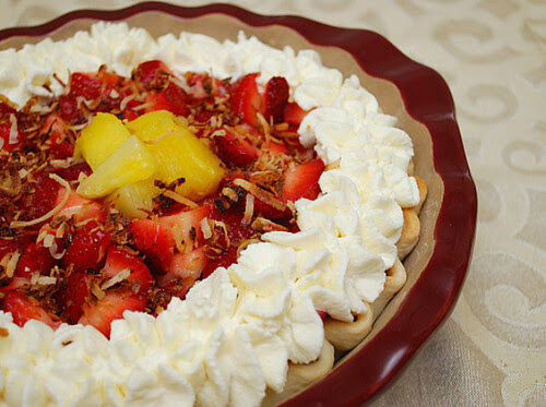 Hawaiian Strawberry Pie