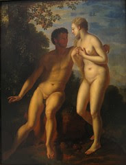 """Adam and Eve"" - Adriaen van der Wer..."