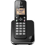 Panasonic KX-TGC350 Expandable Cordless Phone - Black