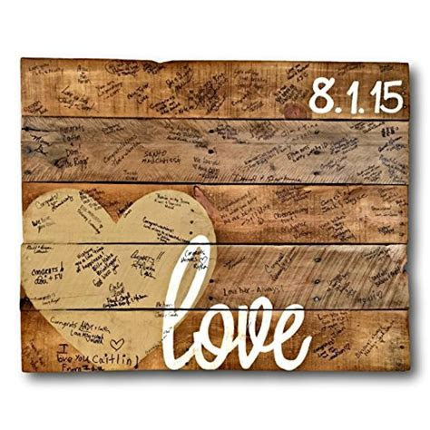 Wood Love Sign/ Alternative Wedding Guestbook/ Wedding