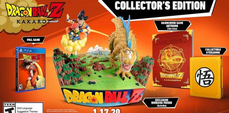 Dragon Ball Z Kakarot Ps4 Collectors Edition Pre Order