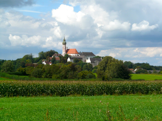 Kloster Andechs Monastery Munich, Germany