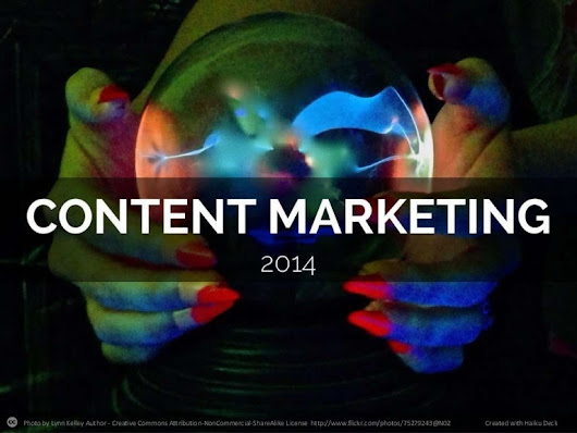 Content marketing 2014 - From The Digital Marketing Show