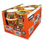 Nissin Hot & Spicy Noodle Bowl, Chicken, 3.32 oz, 18-Count