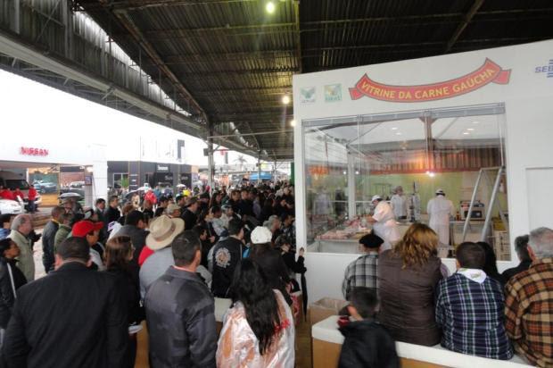 Associações e entidades preparam espaços no Parque da Expointer Elio Bandeira/Agencia RBS