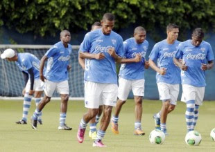 Honduras entrena con miras al partido ante Costa Rica. Foto: laprensa.hn