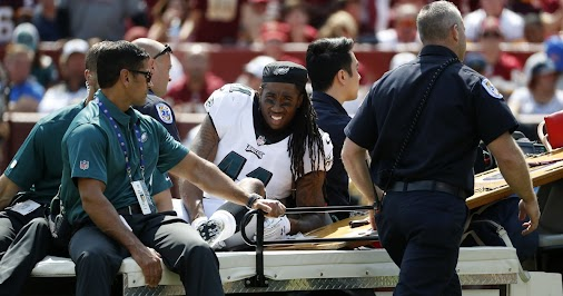 Eagles injury updates: Ronald Darby, Lane Johnson, Jordan Hicks, Wendell Smallwood, and Chris Maragos...