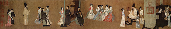 this song dynasty 960 1279 painting entitled the night ...