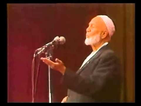 When the enemy applause to your argument - amazing Ahmed Deedat - YouTube