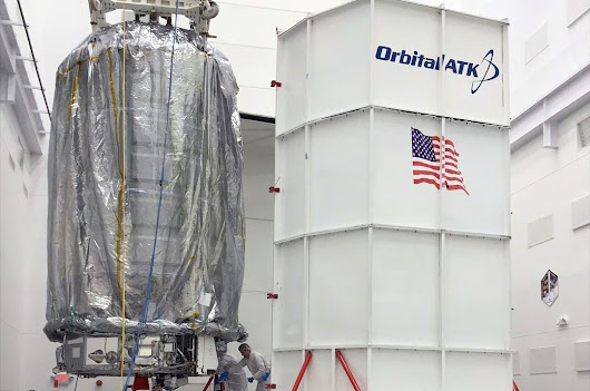Orbital ATK space station freighter named for late executive and NASA director | collectSPACE