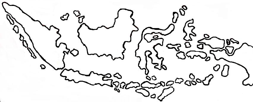 Papuaweb peta 2 papua maps of papua irian jaya west papua. Gambar Peta Indonesia Tanpa Warna