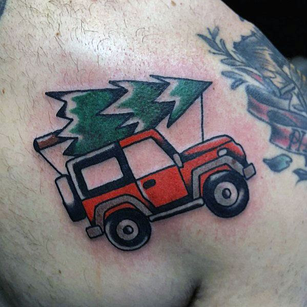Jeep Male Tattoos