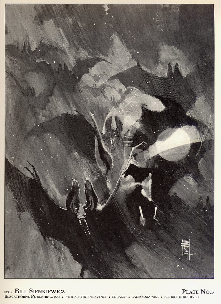 Bill Sienkiewicz - Vampyres (Blackthorne Publishing, Inc 1985) Plate 5