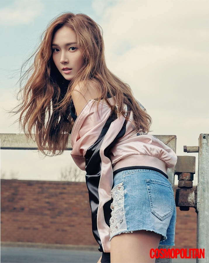 Former SNSD's Jessica Jung for Cosmopolitan Korea May 2016.