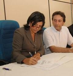 Governadora do Maranhão, Roseana Sarney, e seu cunhado e secretário de Saúde do Estado, Ricardo Murad.