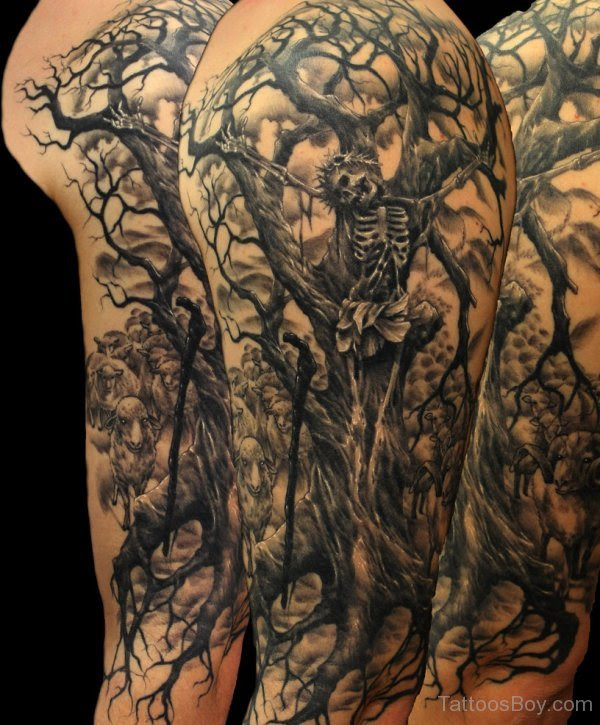 Jesus Tree Tattoo Tattoo Designs Tattoo Pictures