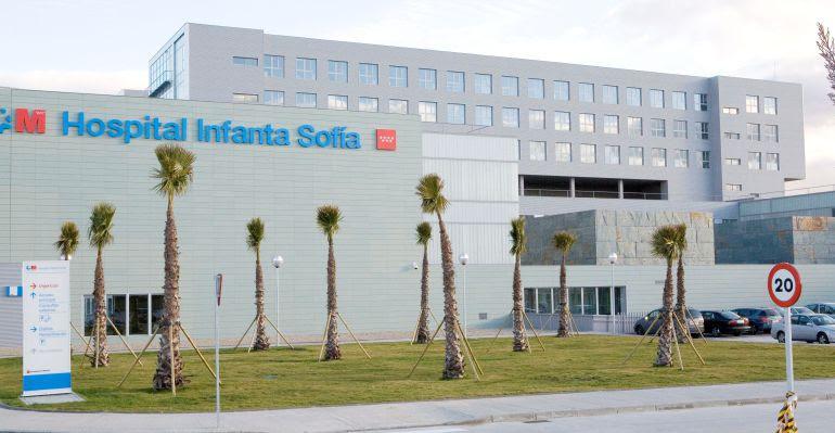 Fachada del Hospital Infanta Sofía de San Sebastián de los Reyes