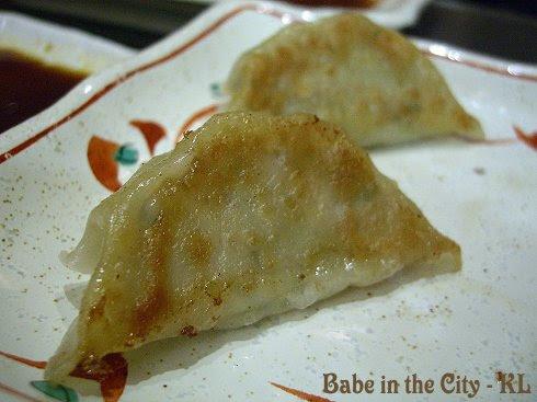 Chicken Gyoza (RM9.80)