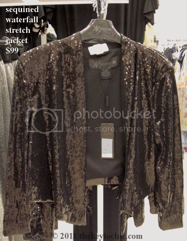 Kardashian Kollection Sears black sequin jacket