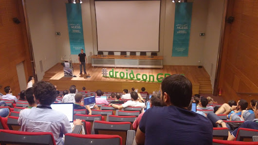 "#⃣️ Droidcon GR on Twitter: ""Really cool keynote talk by @CharlieCollins at #droidconGR16 getting ready for @EmmaTresanszki """