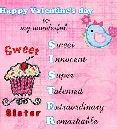 To My Sweet Sister Free Family Ecards Greeting Cards 123 Greetings
