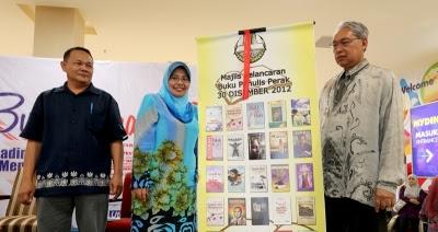 Majlis Pelancaran 25 buah buku karyawan Perak
