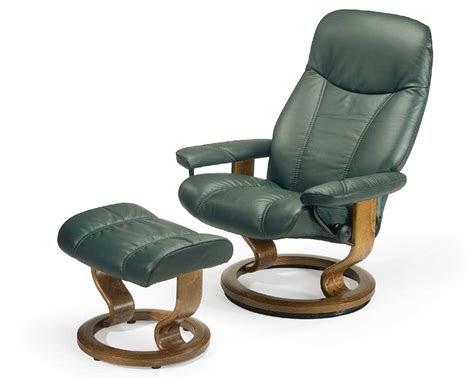 stressless recliners consul recliner  ottoman