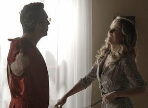 """Atena encontra com Romero: 'Oi, amore!""""' (Foto: TV Globo)"""