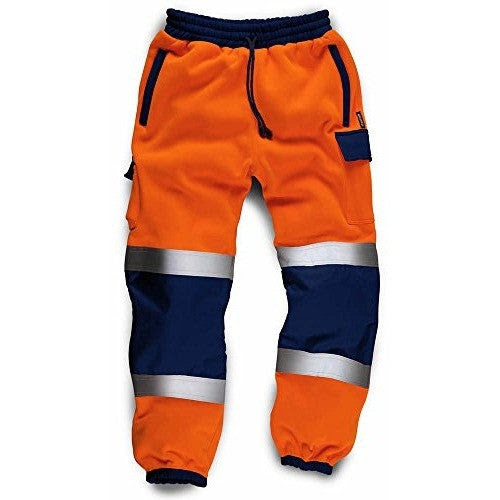 Mens High Visibility Jogging Bottoms