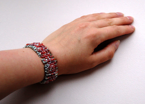 Safety Pin Bracelet - I Need A New Hand Model!