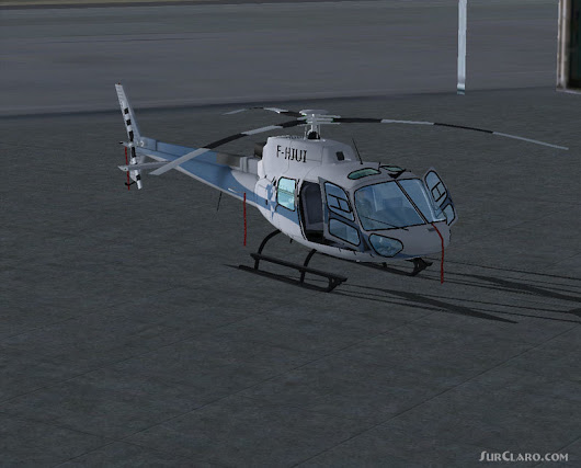 FSX Eurocopter AS350 Package Helicopter (17454)