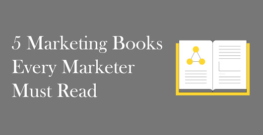 5 Marketing Books Every Marketer Must Read [+ Giveaway]
