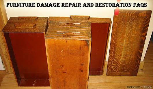 Furniture Damage Repair and Restoration FAQs