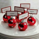Mini Tree Stump Christmas Place Card Holders   Christmas