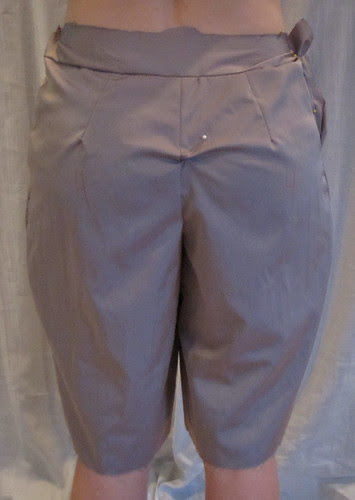 Muslin 4-Back with Shortened Crotch