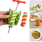 Inkach Baby Food Maker Vegetable Spiral Cutter Food Rotating Machine Manual