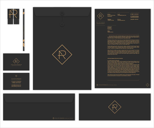 Identity Design for Interior Architecture Studio