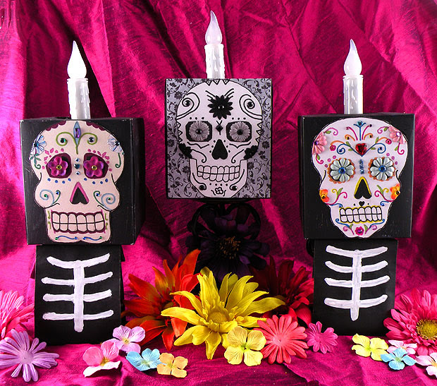 Diy Day Of The Dead Faces