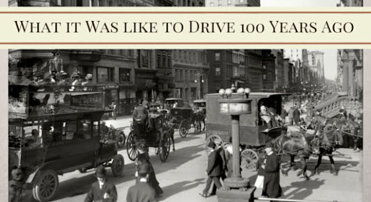 What it Was Like to Drive 100 Years Ago