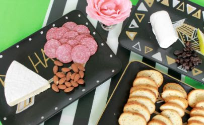 How to Give Party Trays a Makeover with Markers
