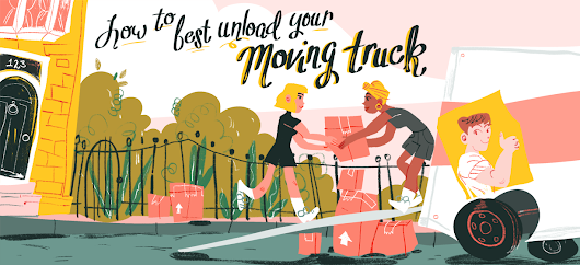 How to Best Unload Your Moving Truck